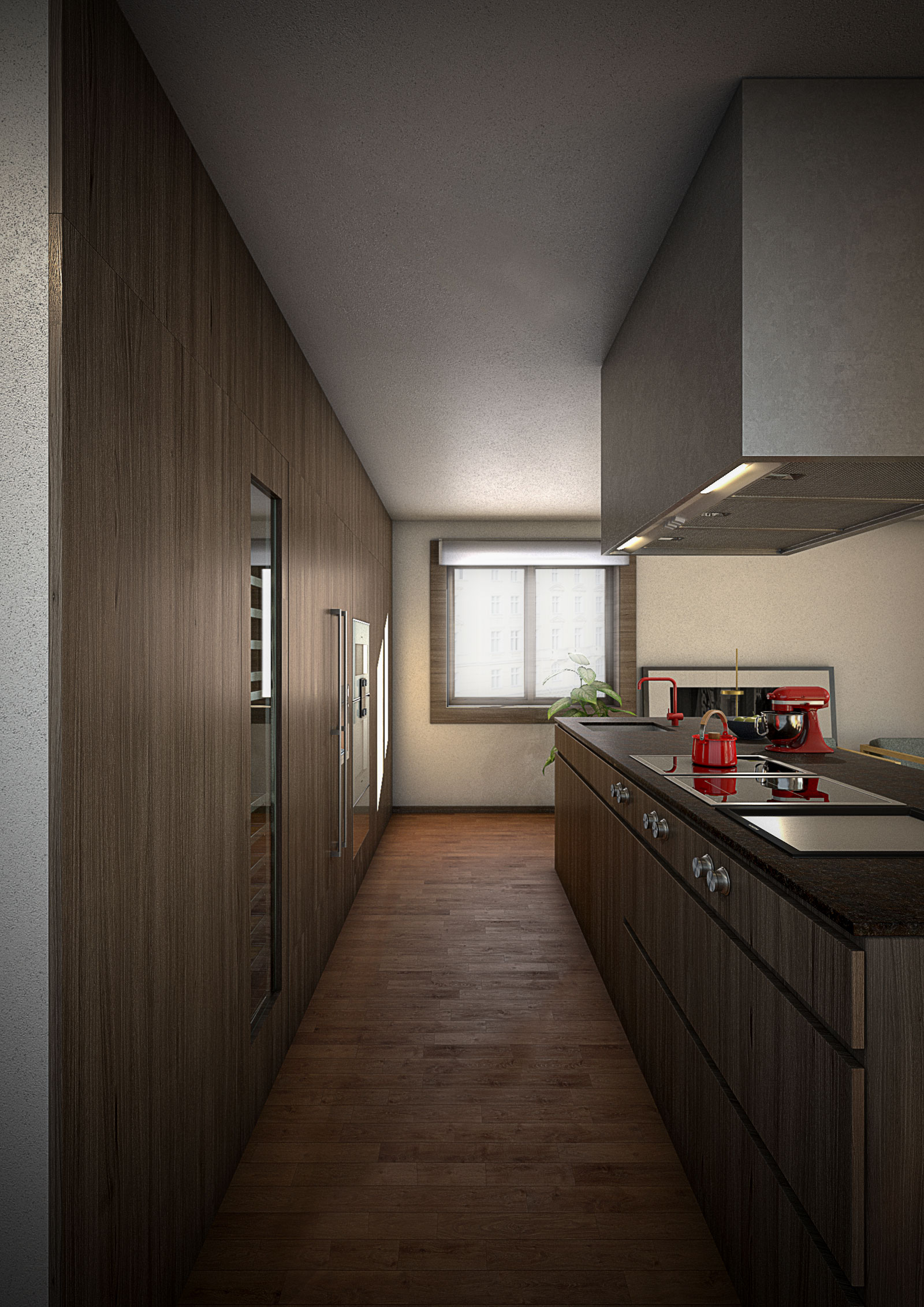 Architectural Visualization for an apartment in Porto. Portugal.